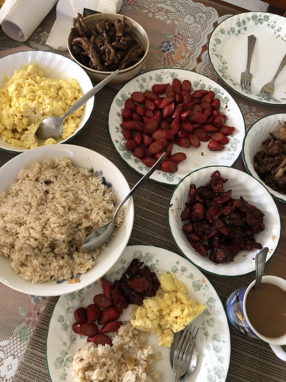 Taken in Candelaria, Zambales, Filipino breakfast / Provided by Nick Pelonia