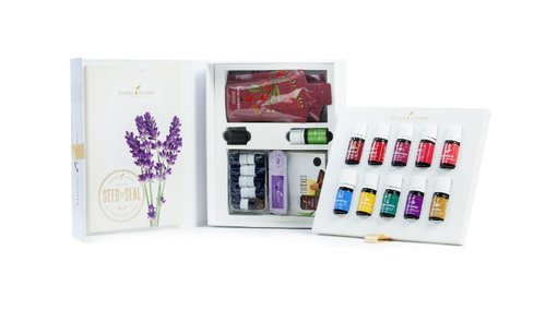 -  Your Premium Starter Kit Includes:Dewdrop™ DiffuserPremium Essential Oils Collection;Lavender 5-mlPeppermint Vitality™ 5-mlLemon Vitality™ 5-mlCopaiba Vitality™ 5-mlFrankincense 5-mlThieves® Vitality™ 5-mlPurification® 5-mlR.C.™ 5-mlDiGize™ Vitality™ 5-mlPanAway® 5-mlBonuses:Stress Away™ 5-mlAromaGlide™ Roller Fitment10 Sample Packets10 Love It? Share It! Sample Business Cards10 Love It? Share It! Sample Oil Bottles2 NingXia Red® 2-oz. samplesProduct Guide and Product Price ListEssential Oil MagazineEssential EdgeMember Resources