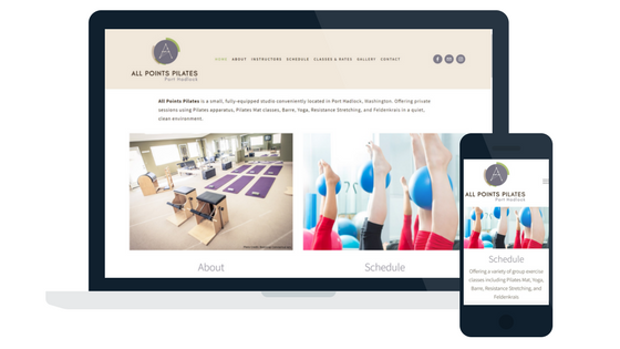 All Points Pilates - Launched June 2017