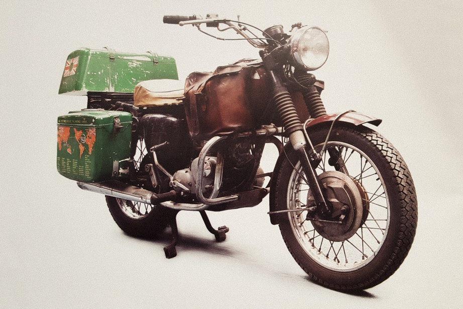 Ted Simon's Triumph T100 Tiger