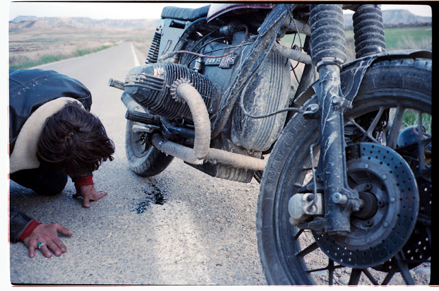 Motorcycle road trip image from Long Live The Kings.
