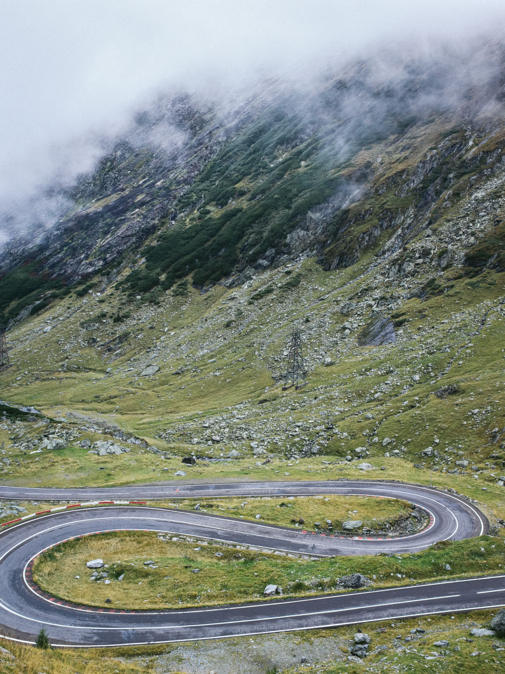 Image of the Transfagarasan National Road.