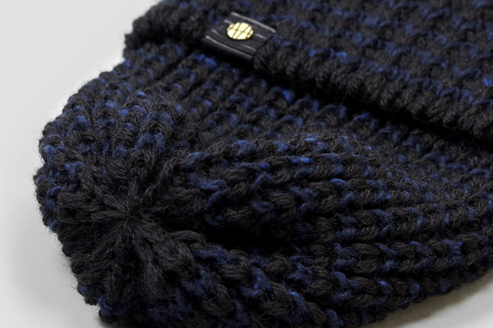 The top of each hat is finished by hand, giving the Thurcroft Hat its distinctive shape.