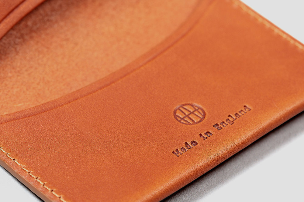 Embossed monogram. Hand-made in London.