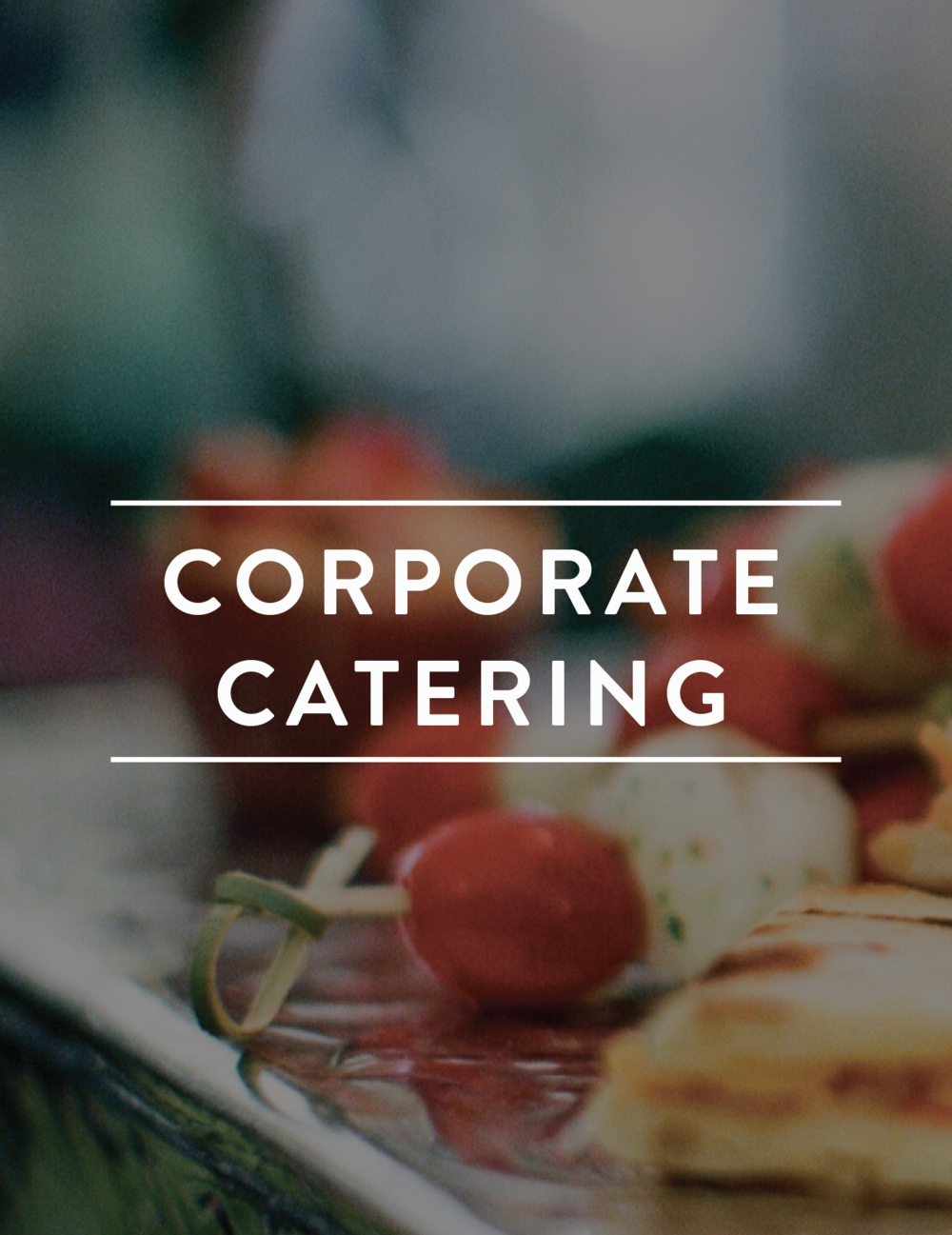 Let us help you plan your nextcorporate event! Daily lunches,breakfasts, open houses, grandopenings, seminars, banquetsand receptions, we can do it all! -