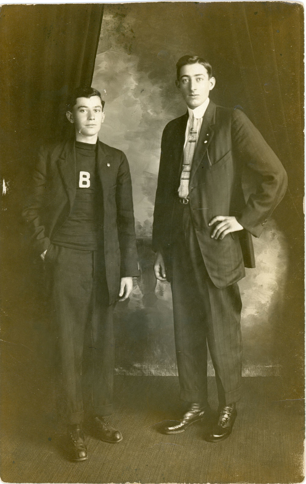 Antique photograph of Lloyd Fullmor, son of Bell Patno