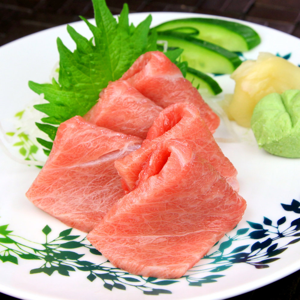 CHU TORO (FATTY TUNA) - 3 PCS @ £6.80