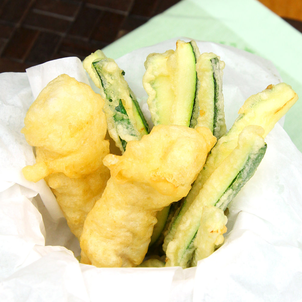 FISH & CHIPS (COURGETTE FRIES) - 2 PCS FISH @ £3.80