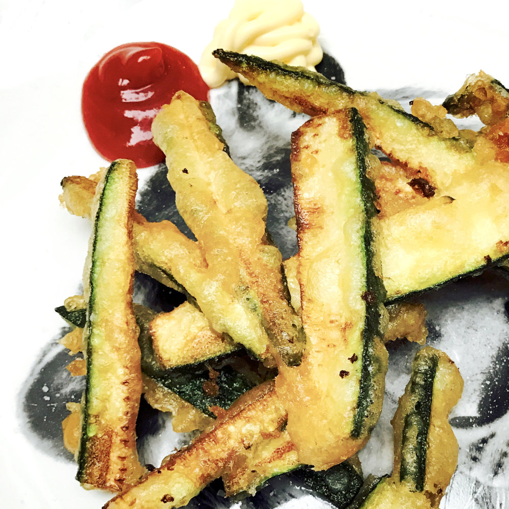 COURGETTE FRIES - @ £3