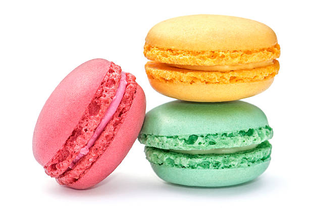 MACAROONS (GREEN TEA / MISO CARAMEL / STRAWBERRY & YUZU) - 3 PCS @ £4.80