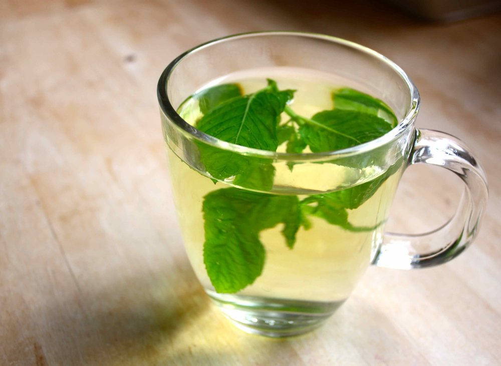 FRESH MINT TEA - @ £3