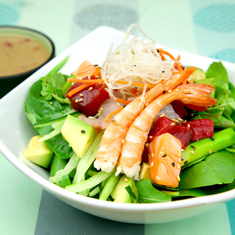 UMi SALAD with SASHIMI - @ £6