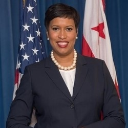 MURIEL BOWSER   Mayor  District of Columbia  (confirmed)