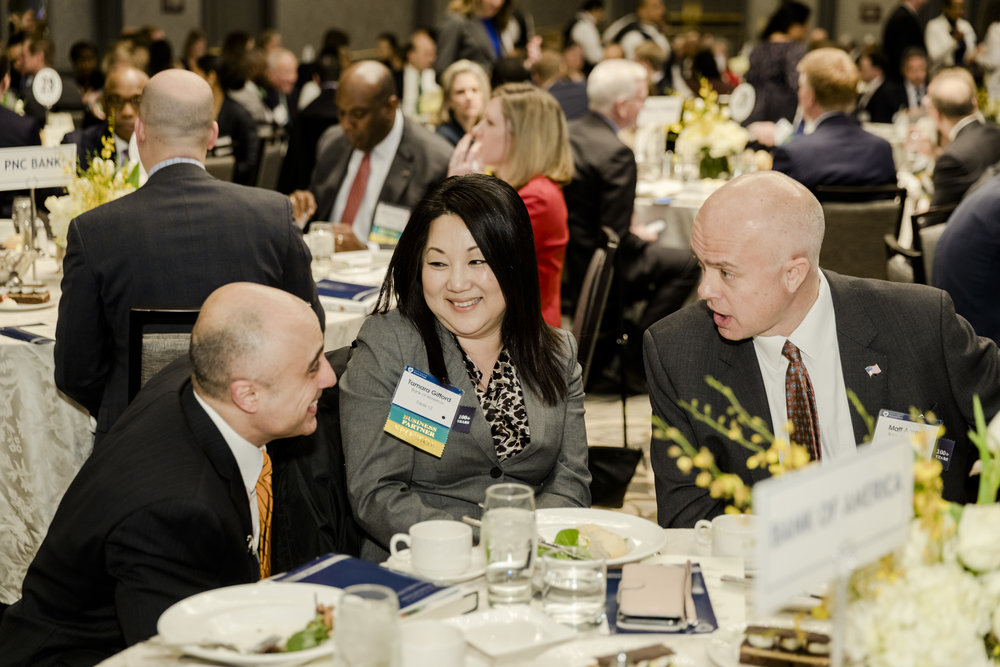 What it's about - A tradition since 1889, the Board of Trade Annual Meeting gathers its members of the Greater Washington business community to recognize the accomplishments of the year and provide a forecast for the year ahead.
