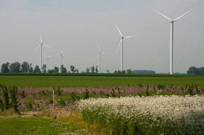 Wildcat Wind Farm , Indiana