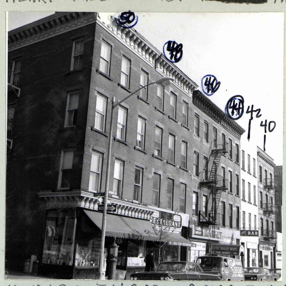 Henry St NY