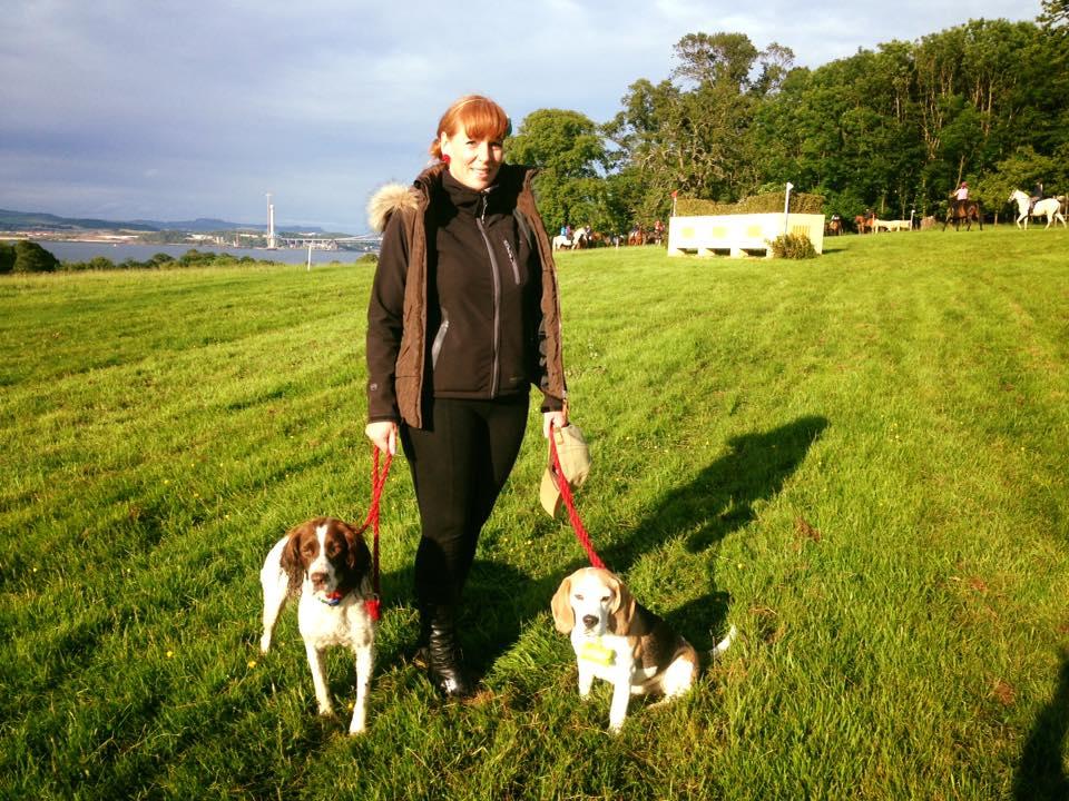 Edinburgh, Scotland dog behaviour training - doggy friends out for a walk