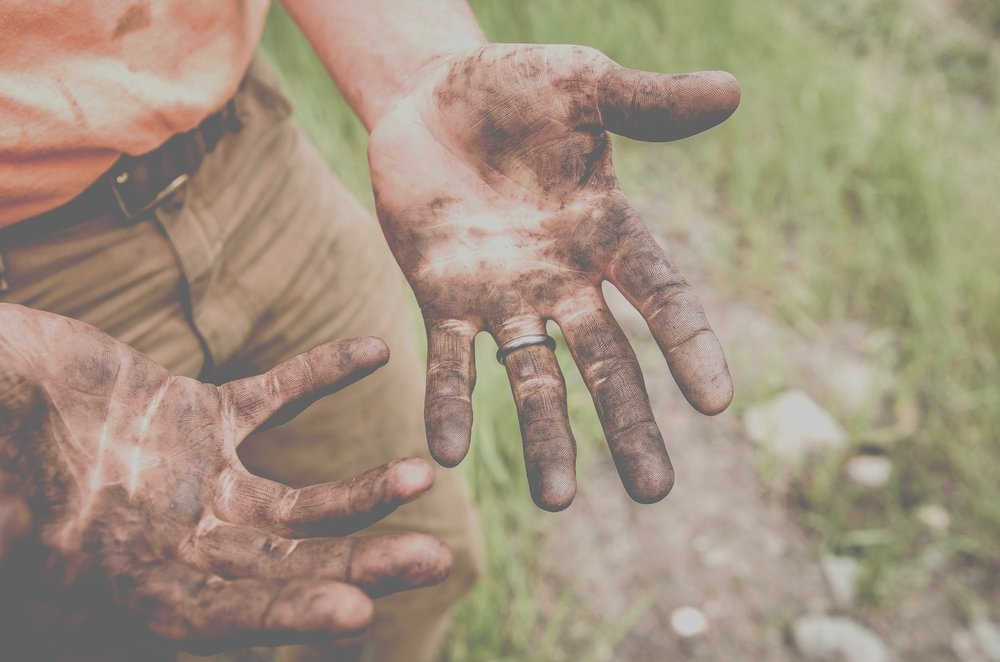 get Your hands dirty! - Join us today for an amazing joint process of your design + build