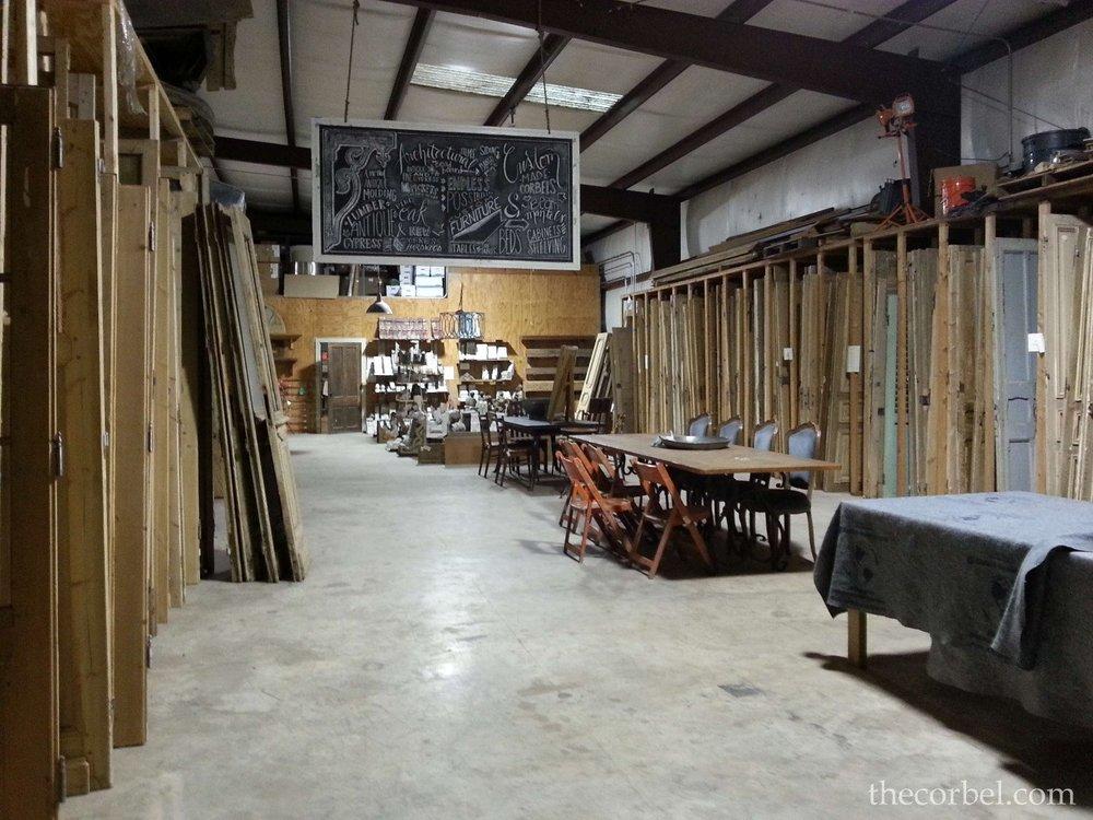 louisiana warehouse antique salvaged doors