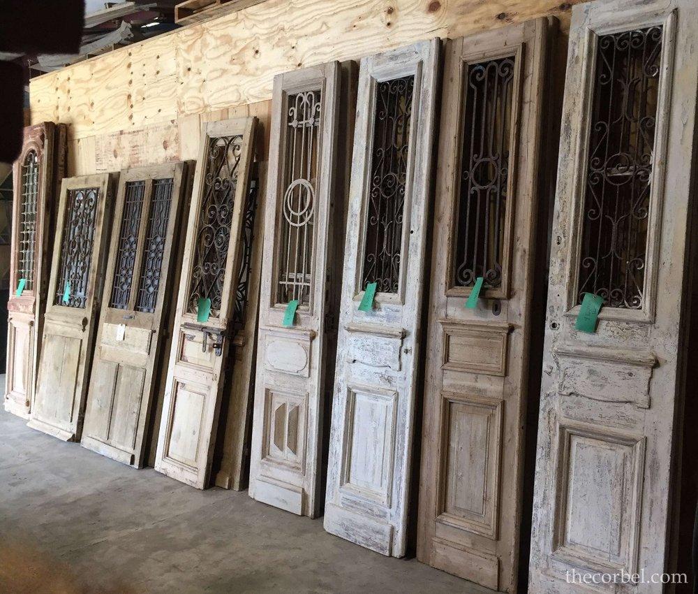 iron antique doors