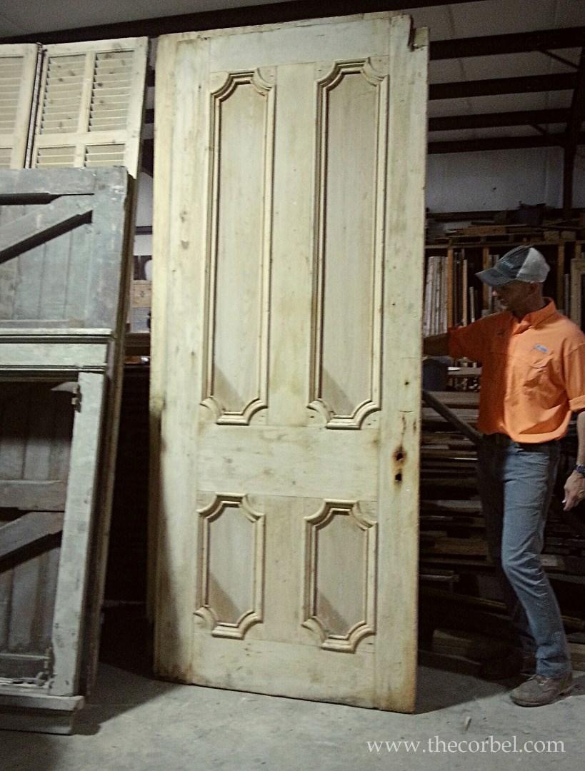 Campbell mansion door