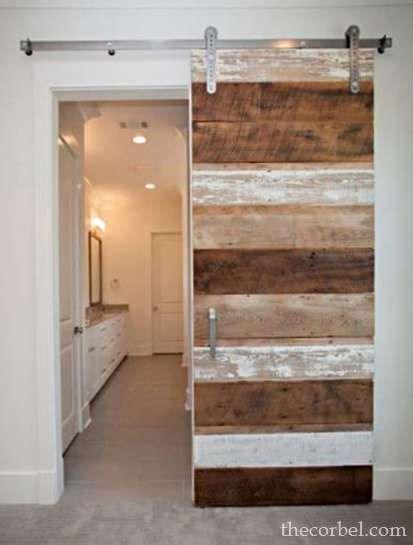 custom cypress barn door