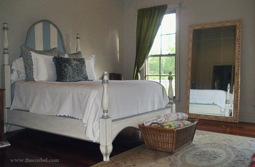 custom french bed
