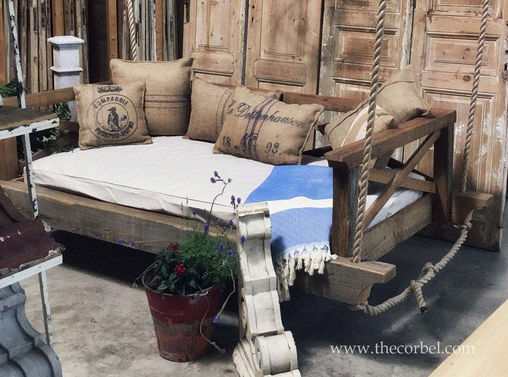 custom bedswing antique cypress