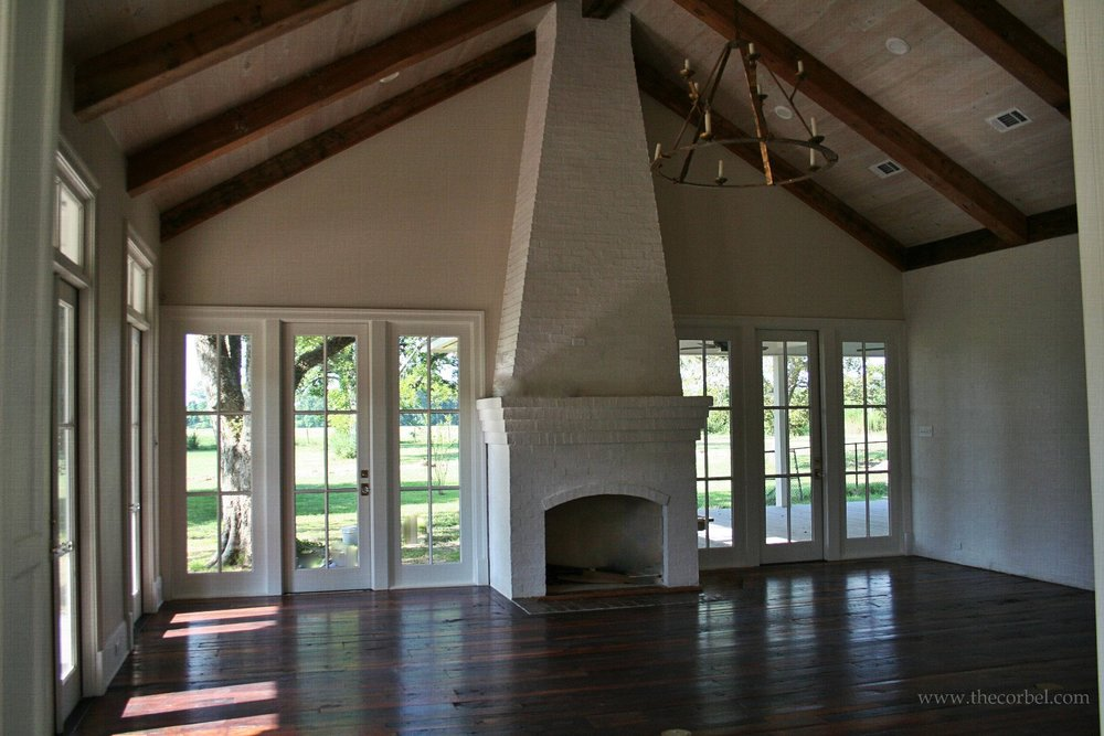 charlet bros homes antique beams