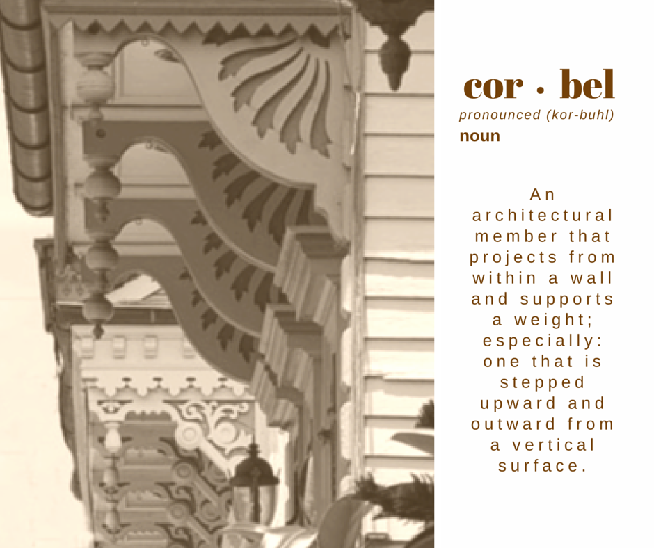 corbel graphic definition
