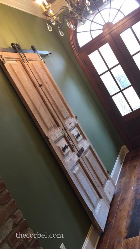 antique doors on sliders