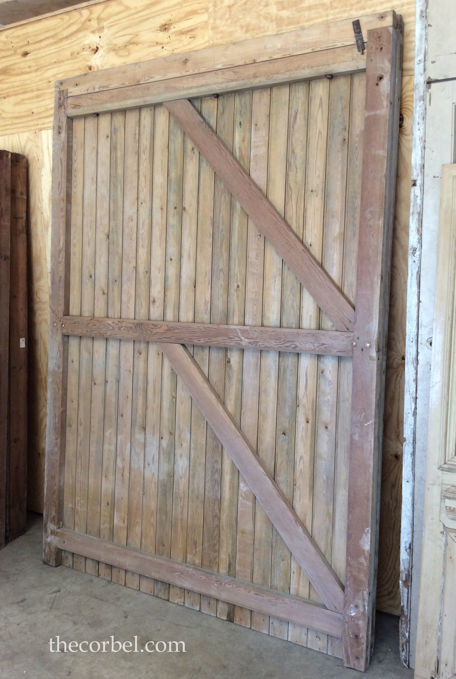 large barn door - Post - The Corbel
