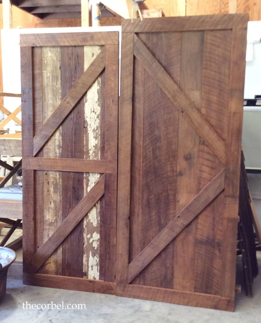 custom barn door the corbel jackson la