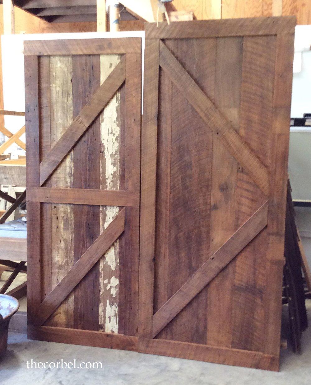 custom barn door the corbel jackson la