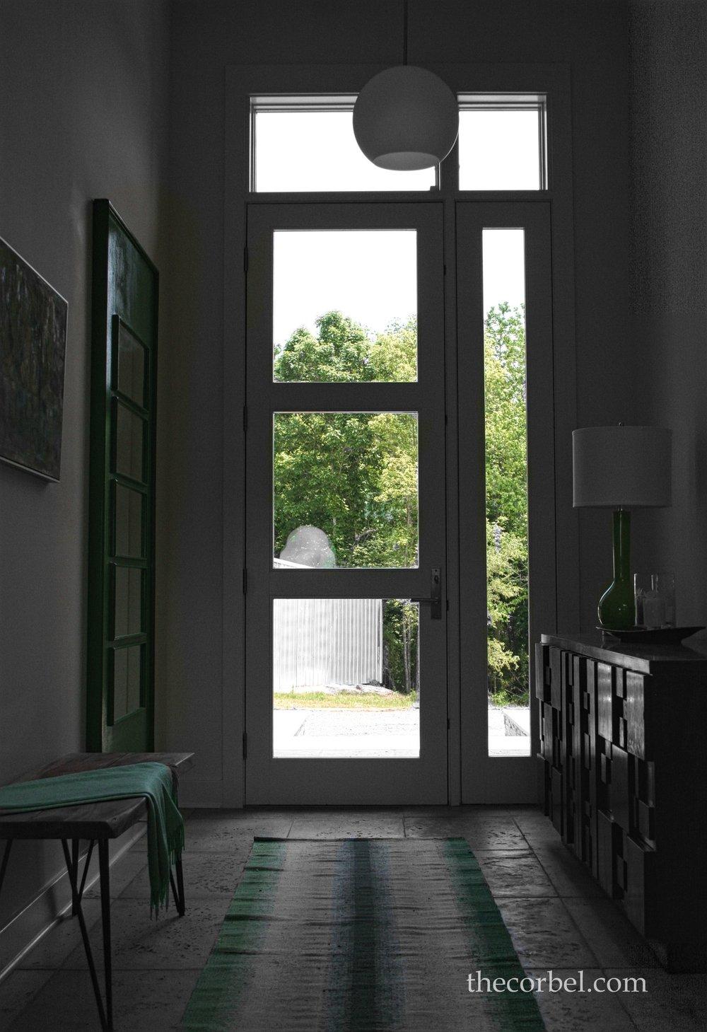 charlet bros contemporary indoor entrance