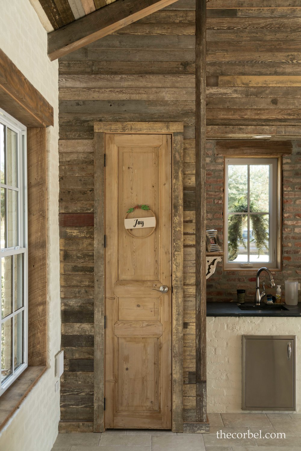 charlet bros poolhouse antique door.jpg