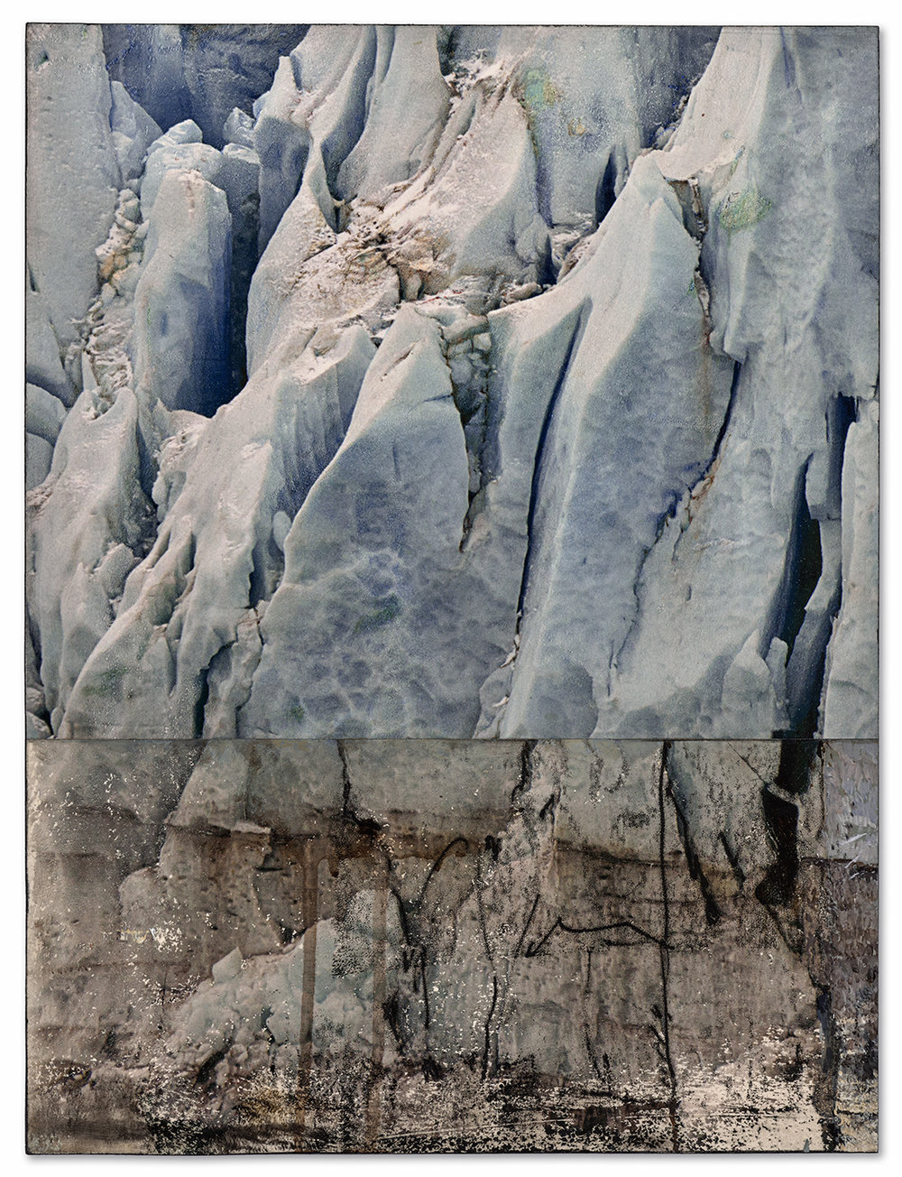 Glacier, Halved