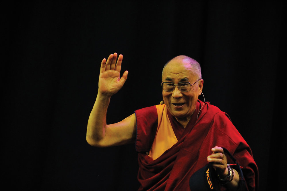 © Sonam Zoksang  His Holiness in New York City.