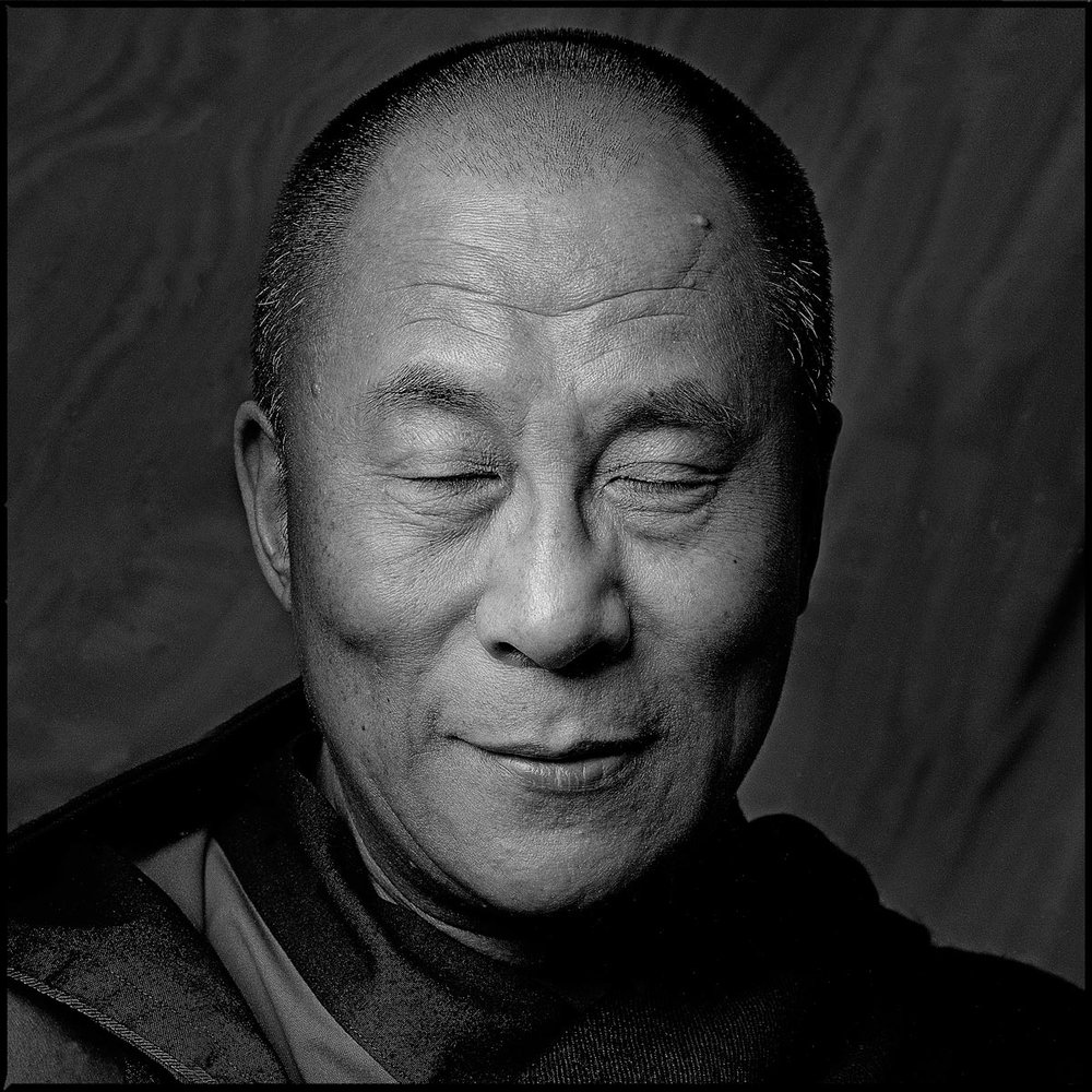 © Clive Arrowsmith  Portrait of His Holiness the Dalai Lama.