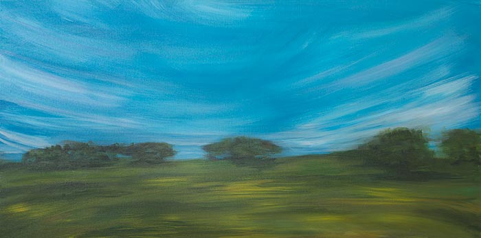 Cirrus Clouds 24x48
