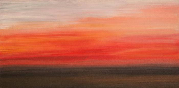 Crimson Sky 24×48