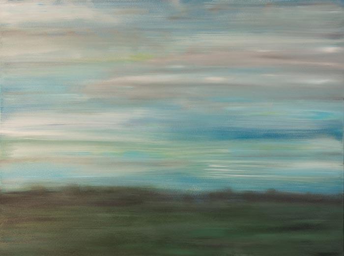 Open Green Pastures 36x48