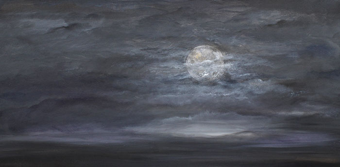 Think of Me When You Look at the Moon 15x30