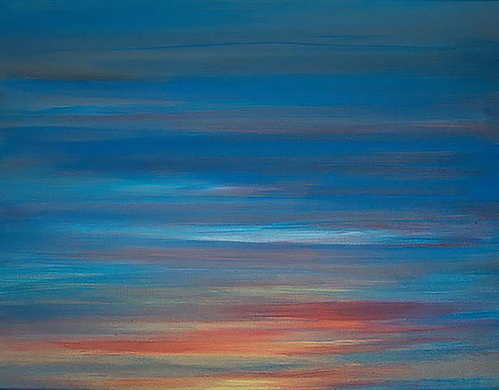 Tom Lea's Palette 14x18