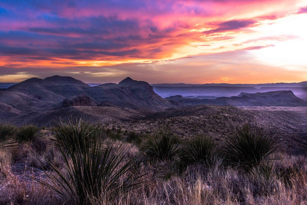 Sotol Vista - Big Bend National Park
