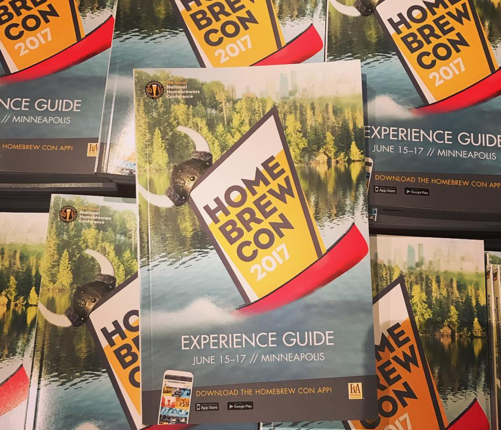 Experience Guide - The 78 page experience guide included maps, speaker bios and advertisements from vendors.