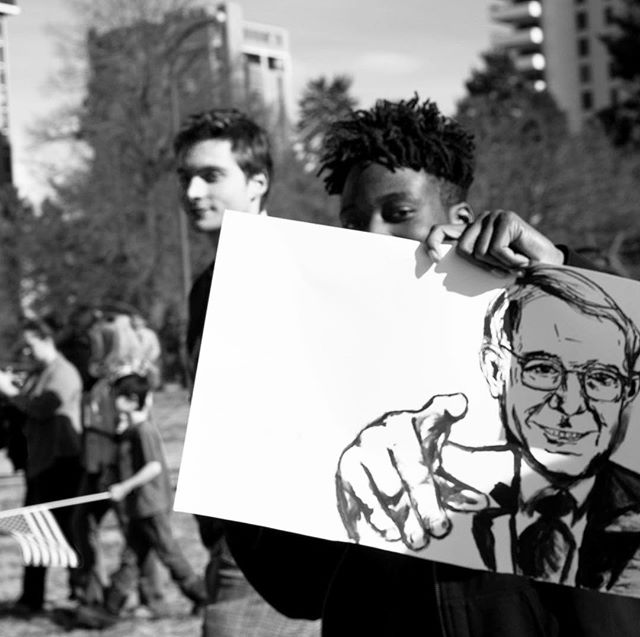 #bernie we need you! I felt so hopeful on this day years ago at Cheesman Park. Still two of my favorite shots from this day.