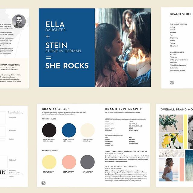 🚨 Updated my website! I will  be highlighting new projects here. This one was brand development for Ella Stein Fine Jewelry. I had the privilege of working with @letterandlark on some of the letterpress pieces. Check it out! Link in bio 🙌🏻