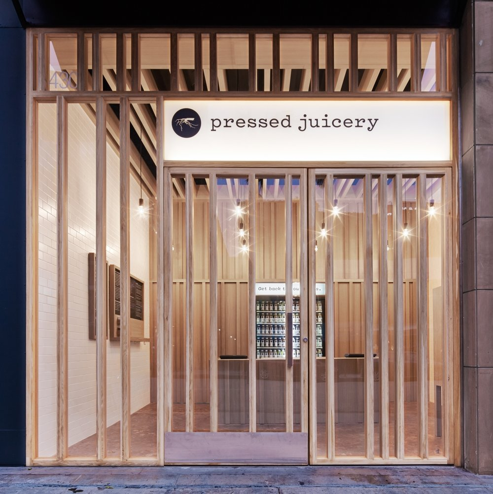 Pressed Juicery   Design // previous work by Alex Babich for Standard Arch