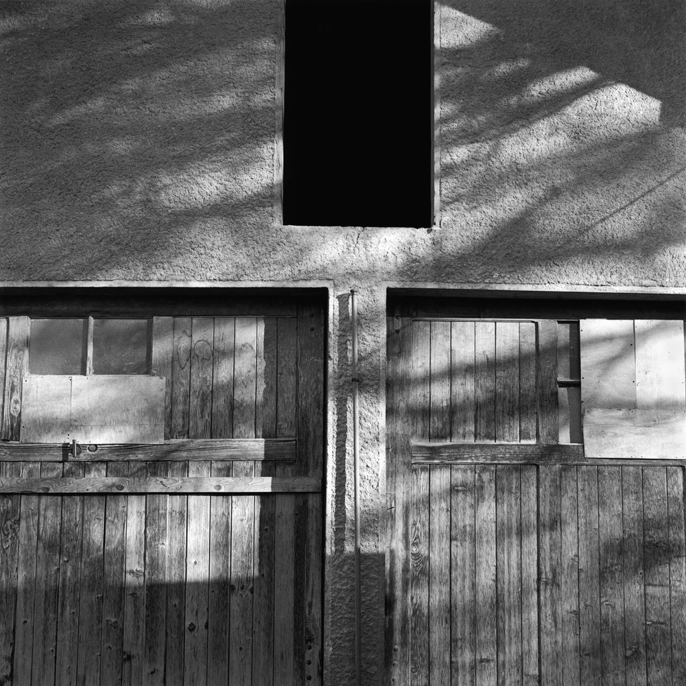 Barn Facade, Gryon, Switzerland, 2001